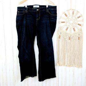 Torrid Dark Wash Boot Cut Jeans